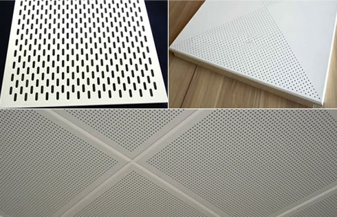 Sound Proof Metal Perforated Screen