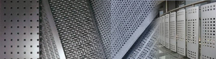 Punching Hole Metal Mesh Screen